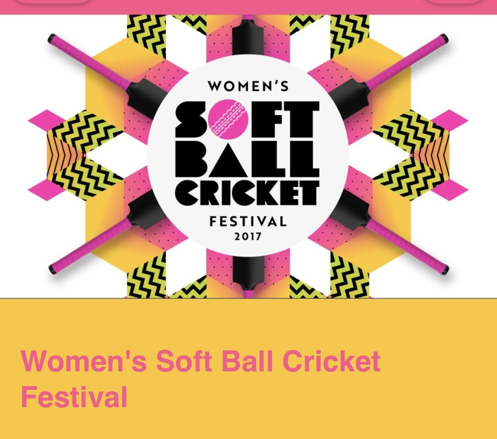 Womens soft ball cricket festival