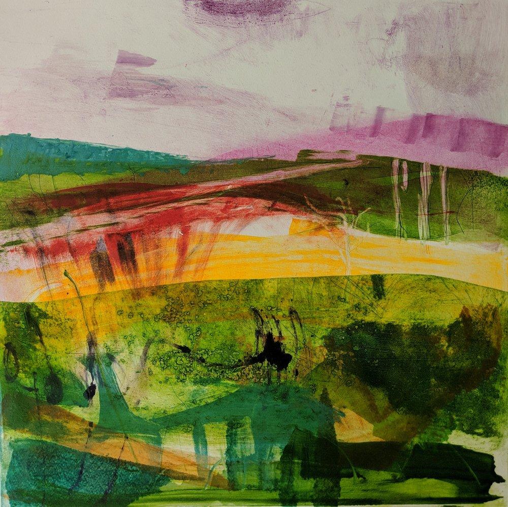 Summer, The Four Seasons, Monoprint, 50 x 50cms, £640.jpg