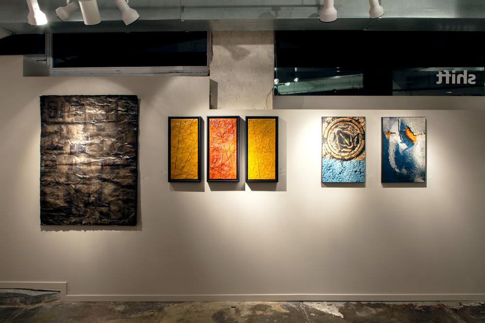 off plumb - Shift Gallery, 2014