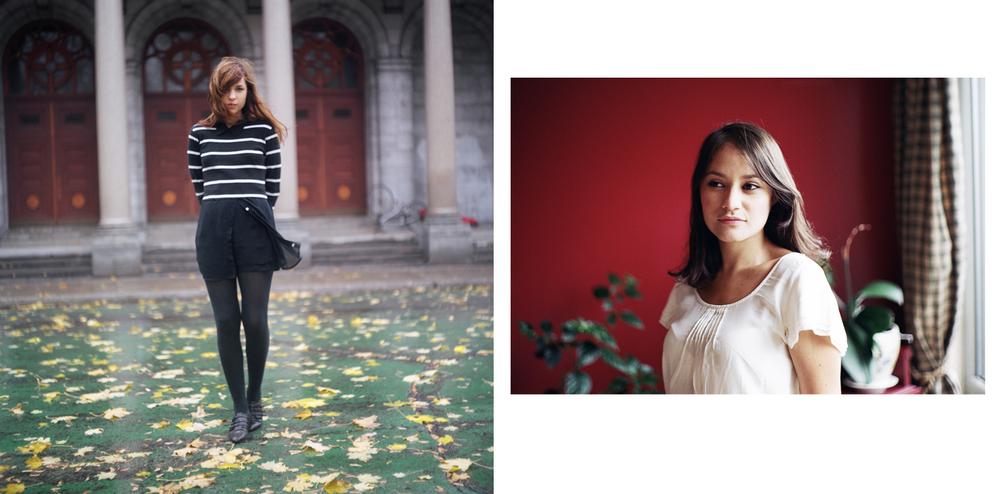 Erika, Montreal (2012)    Diana, Montreal (2013)