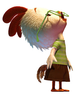 Yoga Speak: Chicken Little