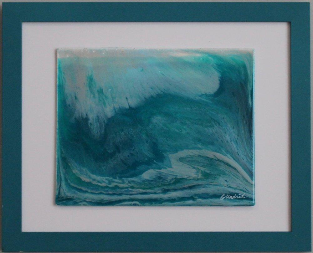 "Surf's Up | 16"" x 13"" framed canvas"