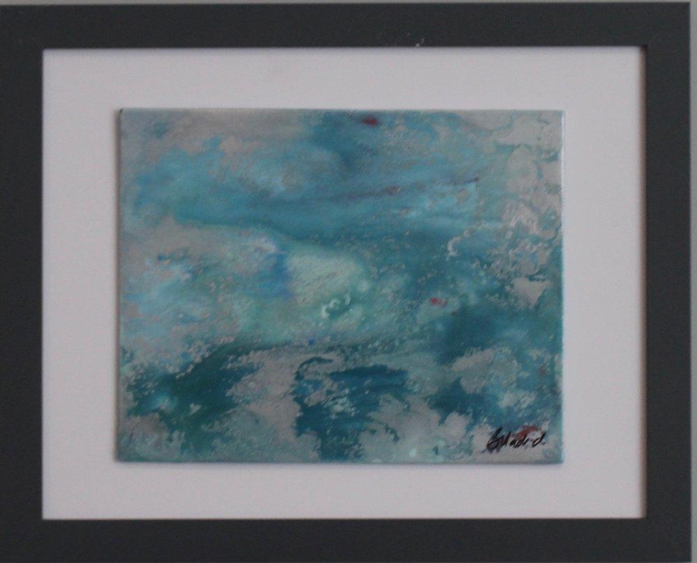 "Precious | 16"" x 13"" framed canvas"