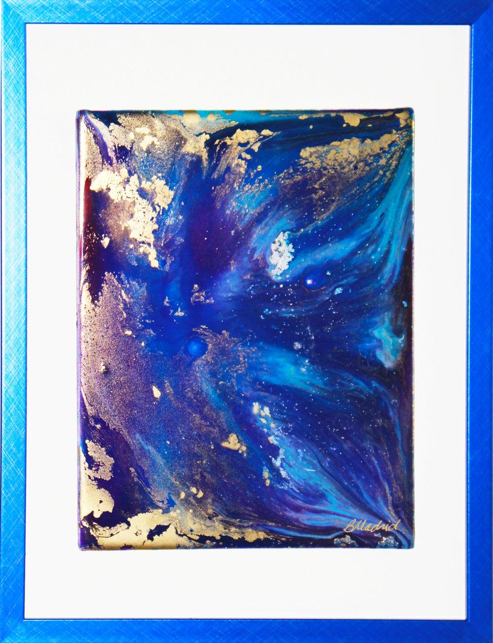 "Deep Elum | 14.5"" x 12"" framed canvas"