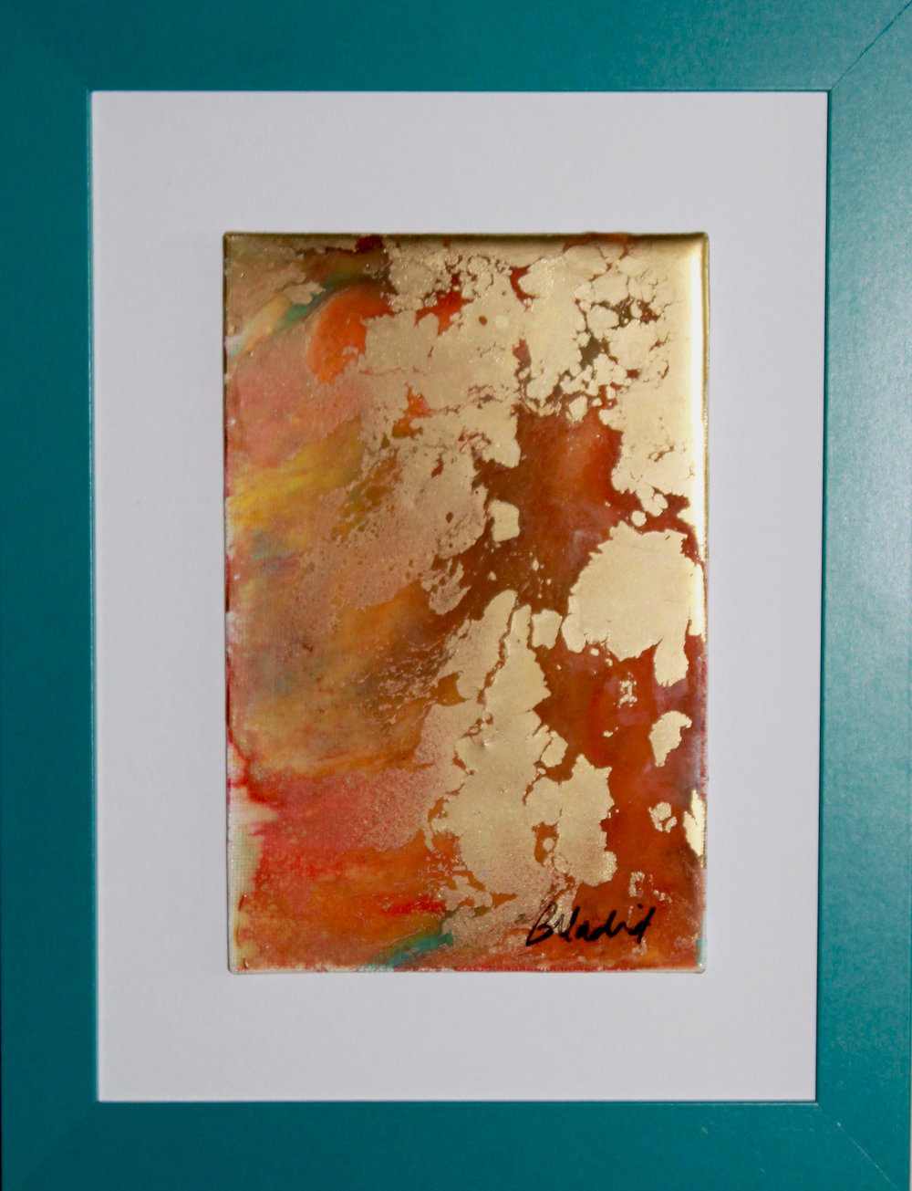 "San Pedro | 11.5"" x 9.5"" framed canvas"
