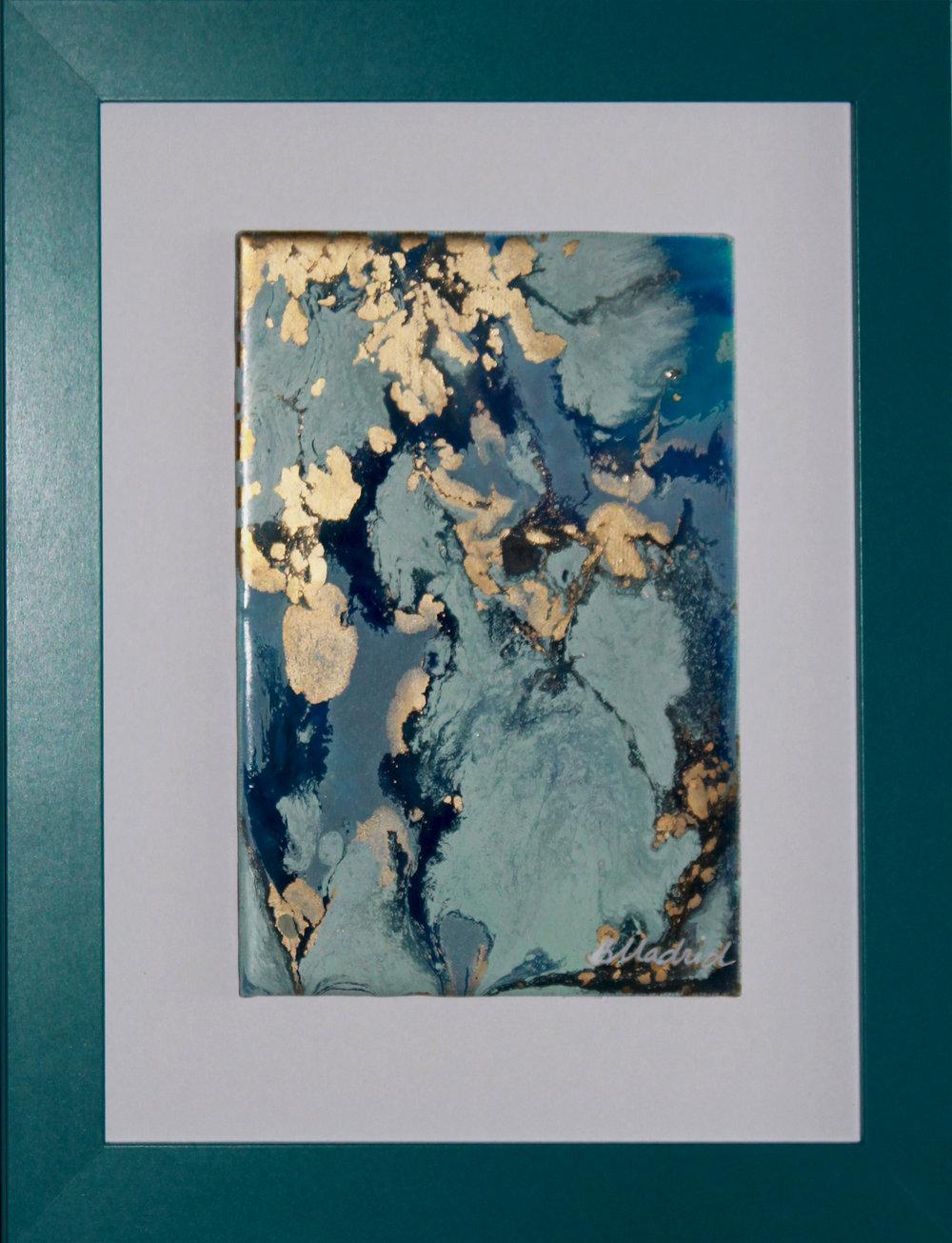 "Permanent Elegance | 11.5"" x 9.5"" framed canvas"
