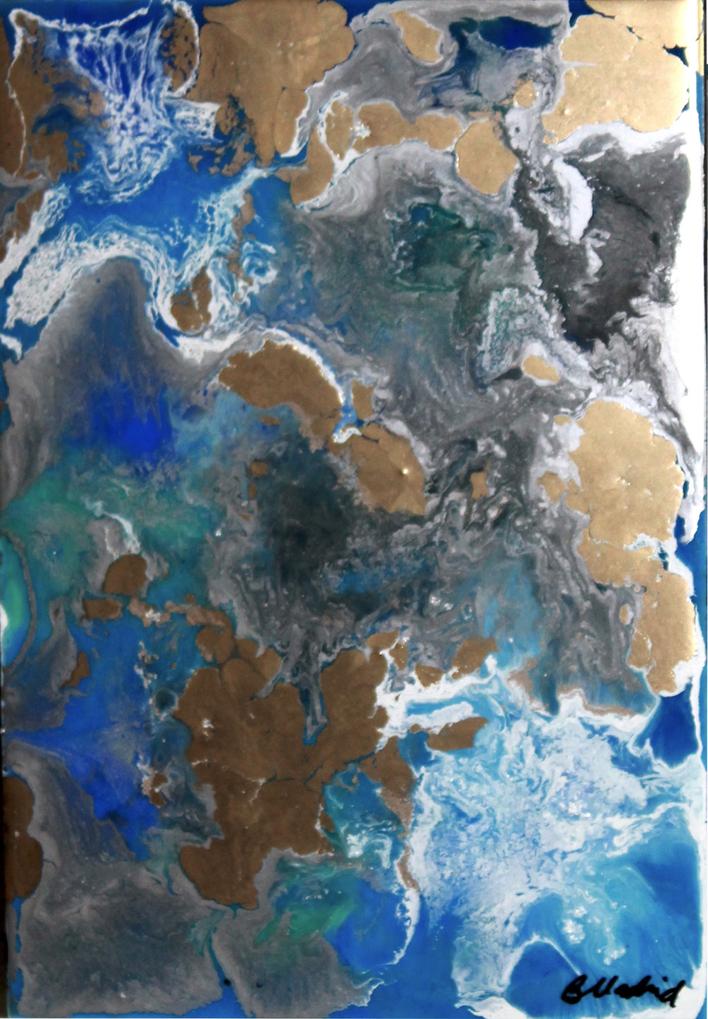 View from Space | painting 4 of 4