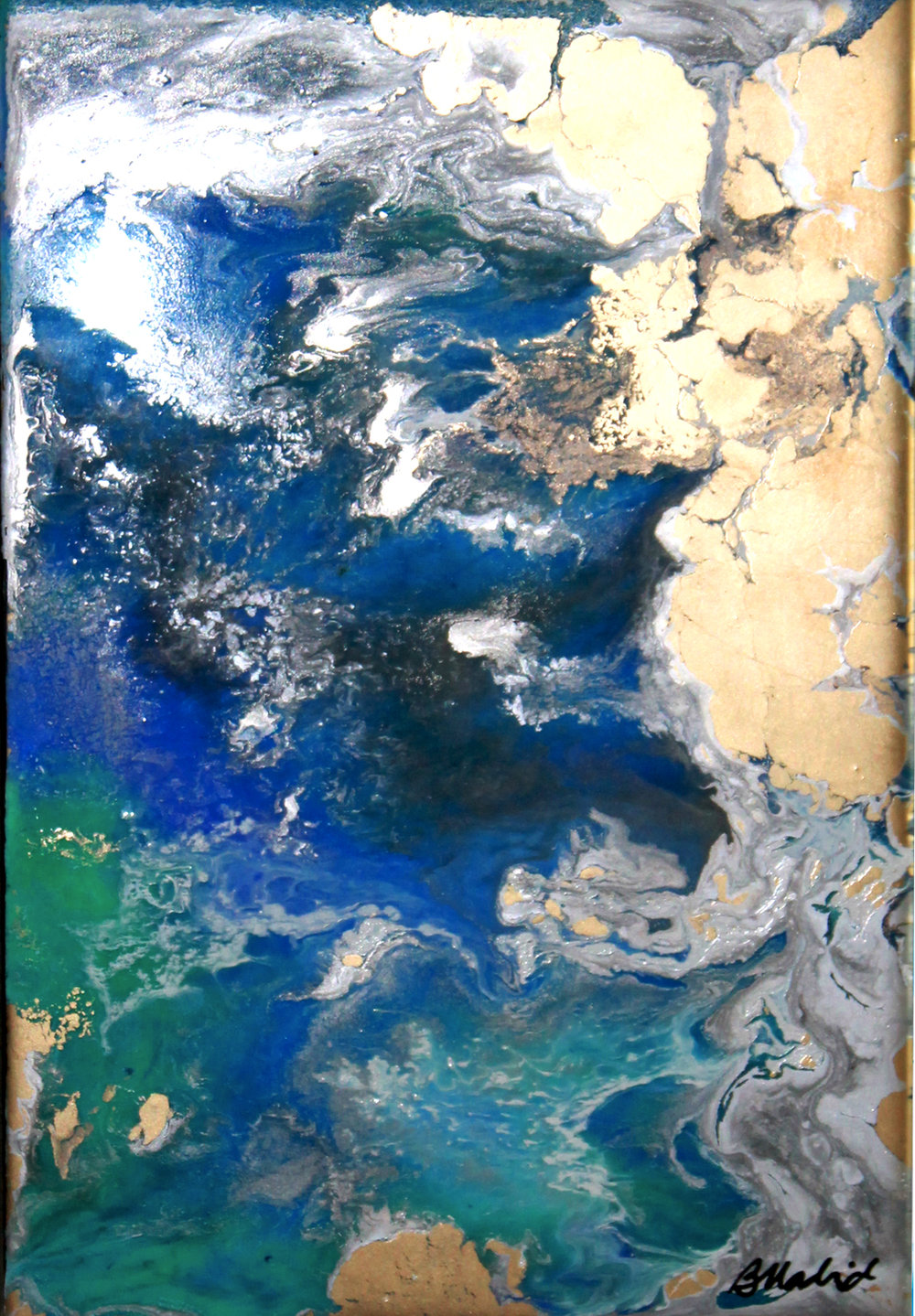View from Space | painting 3 of 4
