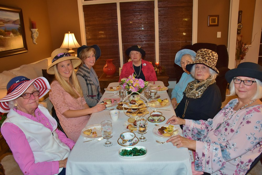 High Tea Party Jan 2018