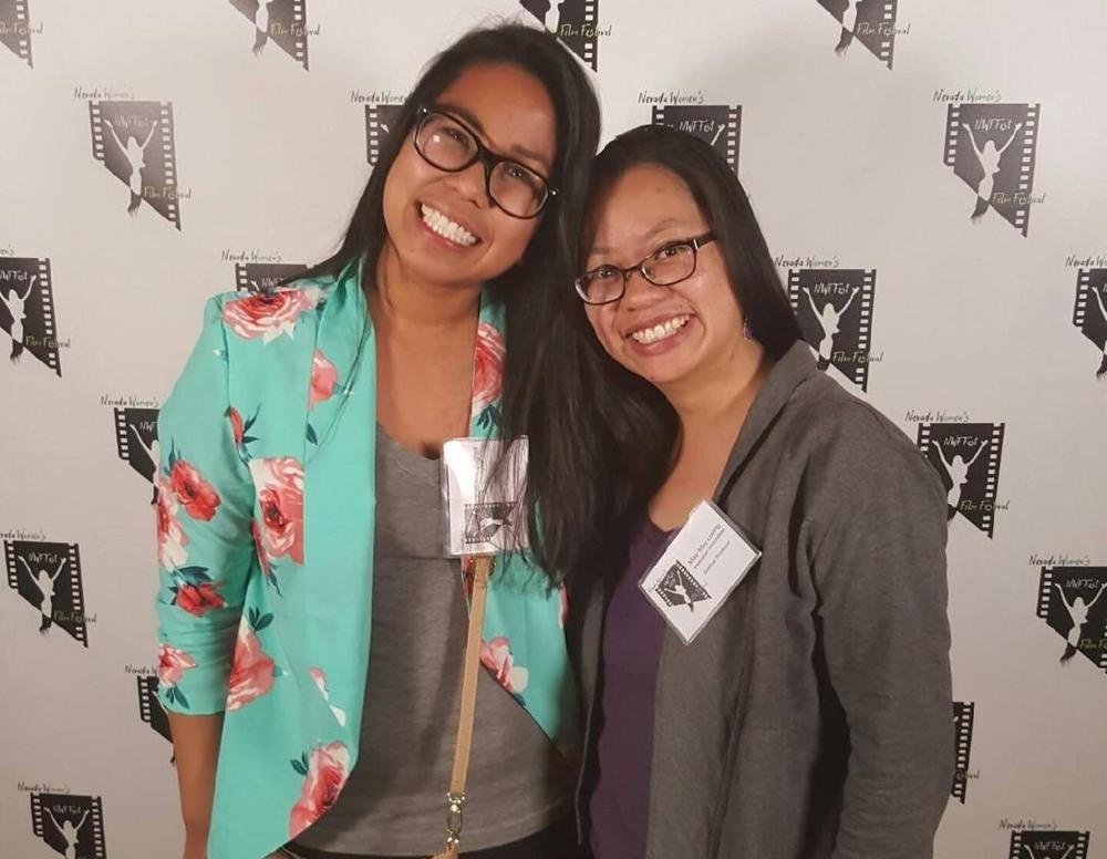 Kathrina Bognot and May May Luong