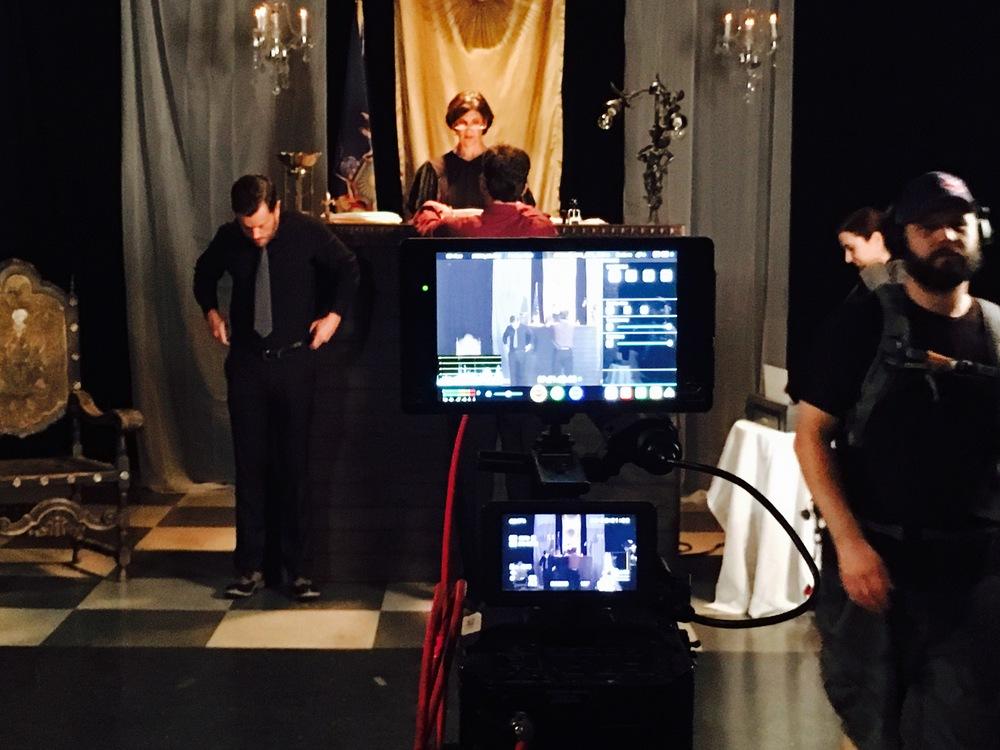 Alison (Judge) on her desk.JPG