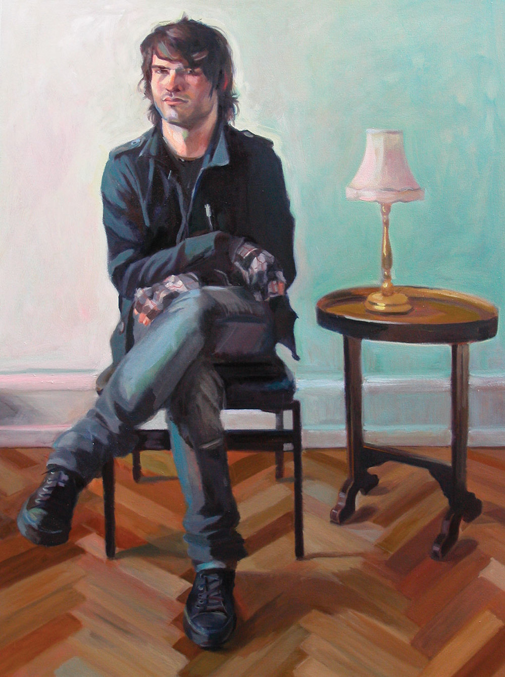 Zachary Adrian, 2008 Oil on canvas 60X48""