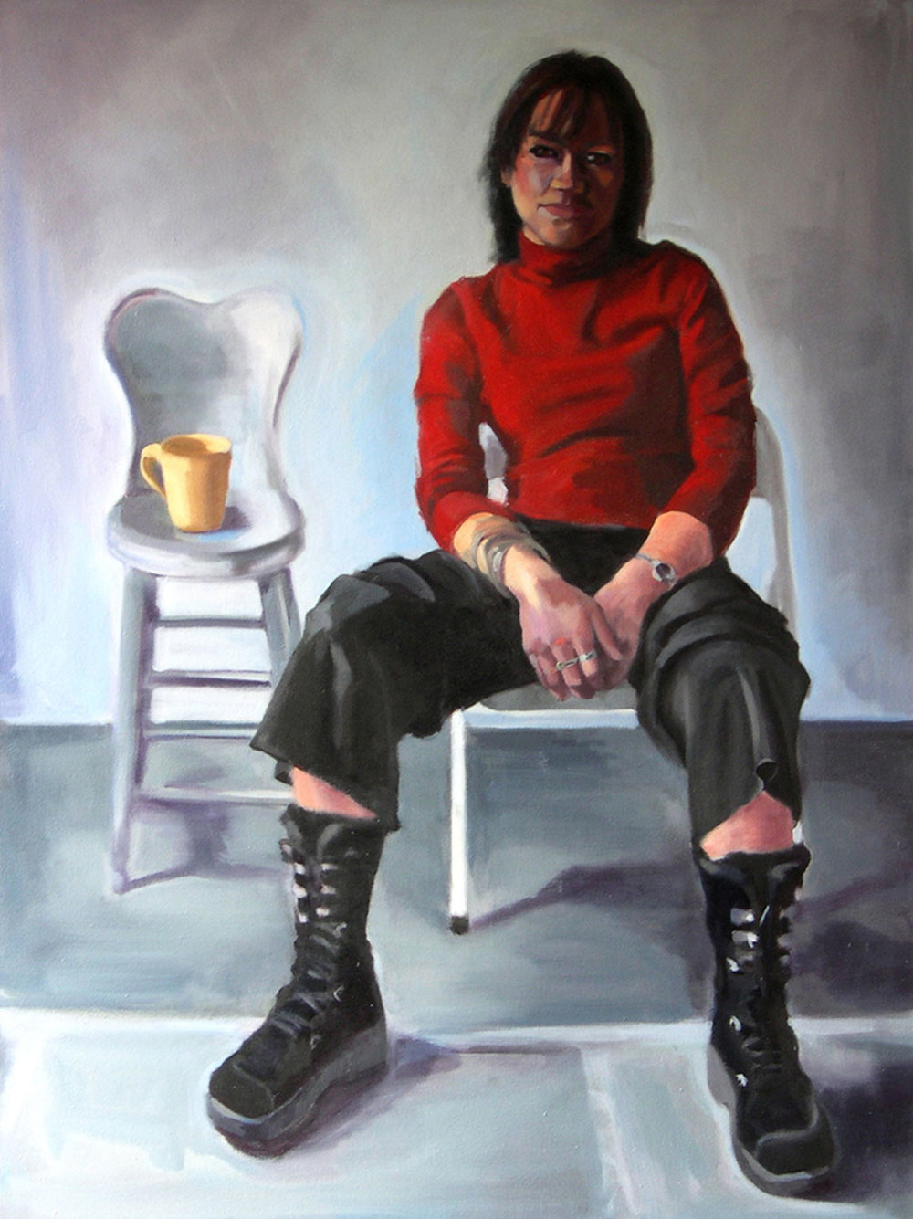 Kasia Rose, 2008 Oil on canvas 60X48""