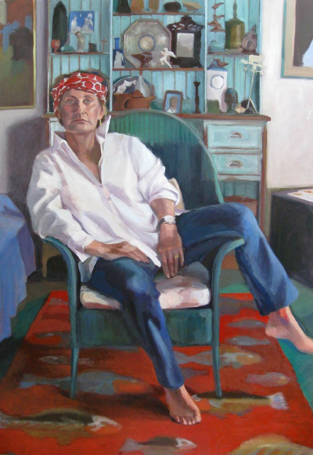 Grande Dame, 2009 Oil on canvas 60X48""