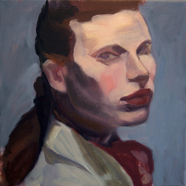 Girl Vl, 2008 Oil on canvas, 12x12""
