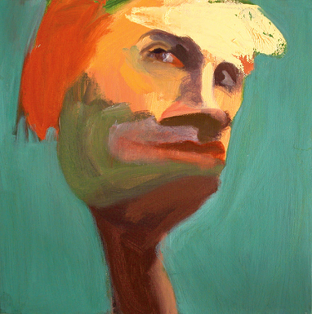 US 15, 2008 Oil on canvas 10x10""