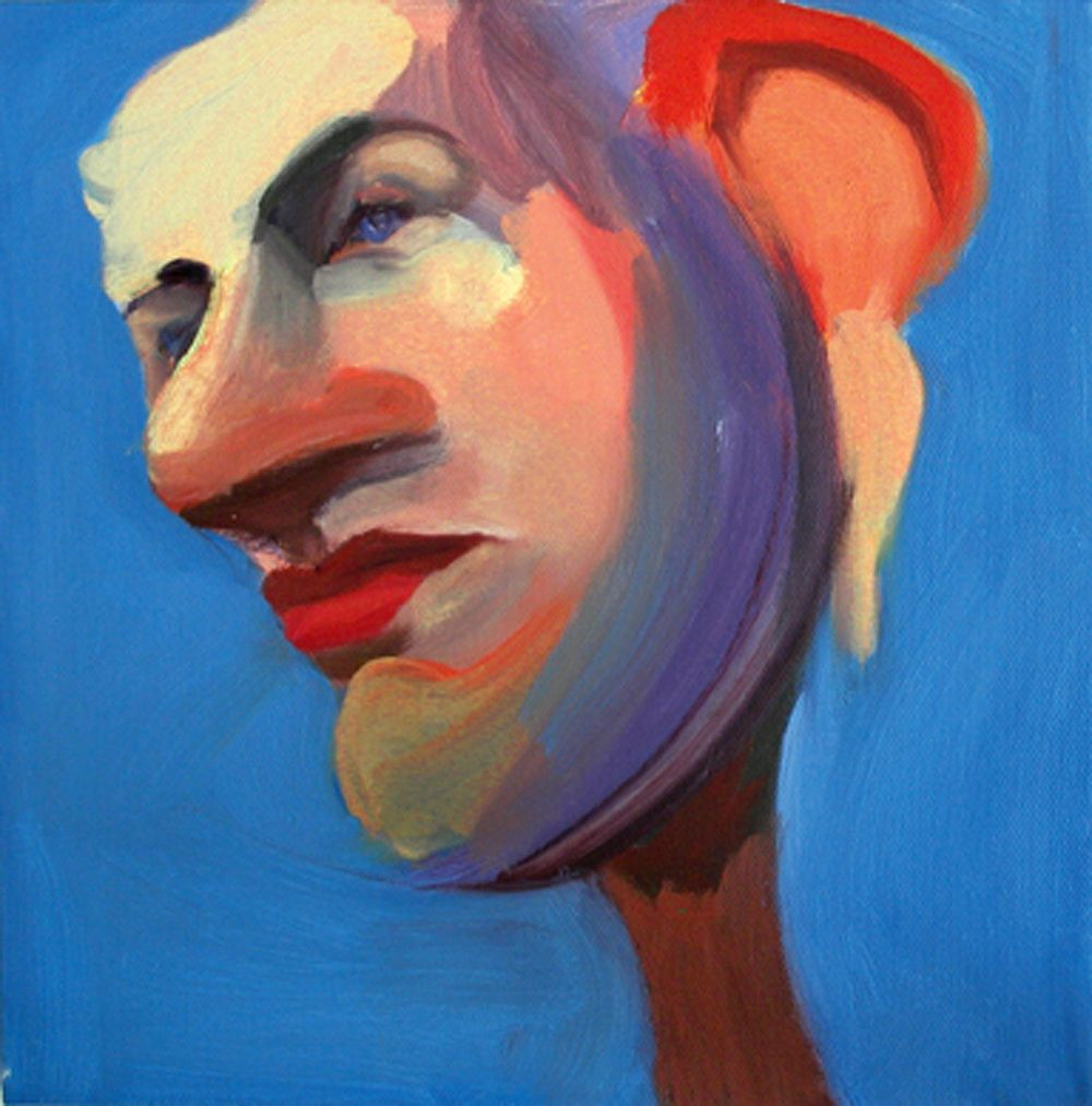 US 22, 2008 Oil on canvas 10x10""