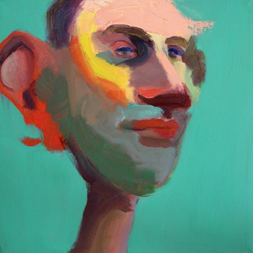 US 31, 2008 Oil on canvas 10x10""