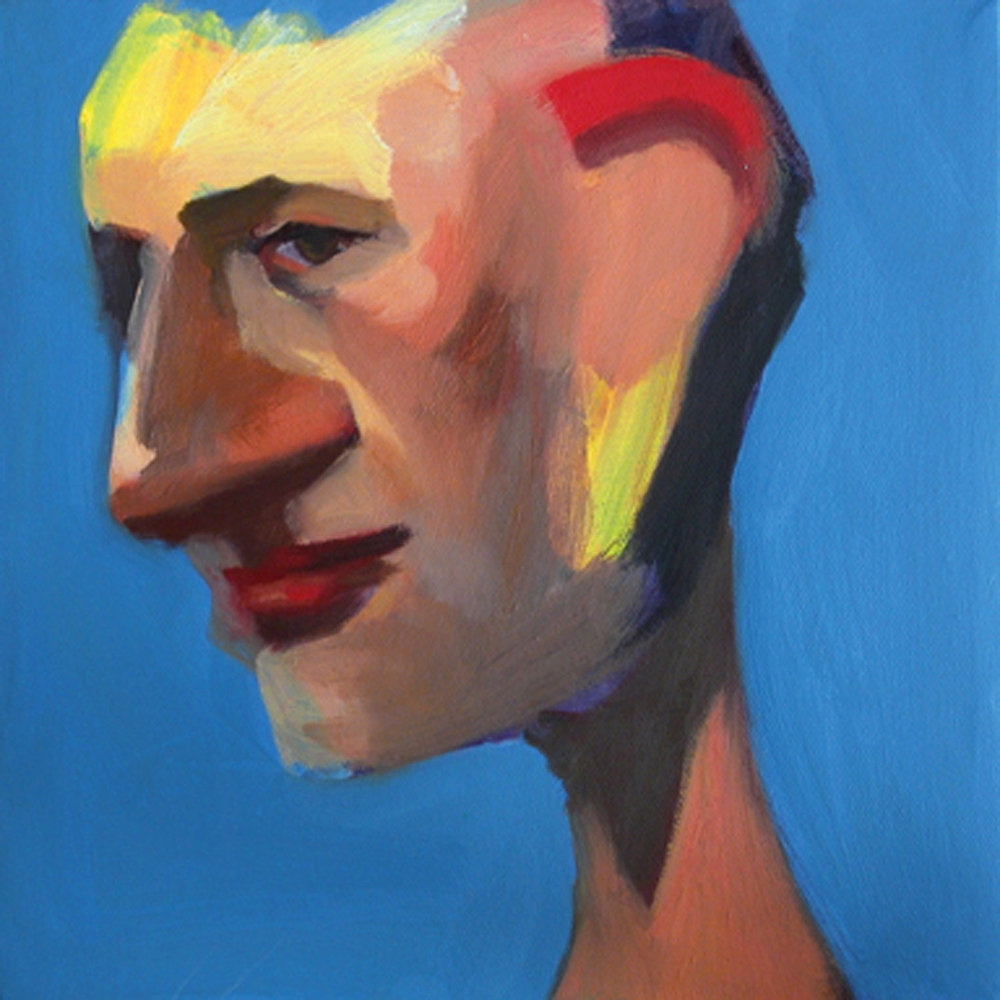US 10, 2008 Oil on canvas 10x10""