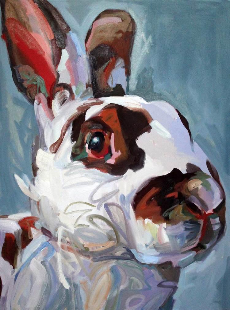 "Lovelace, 2016 oil on canvas 36x48"""