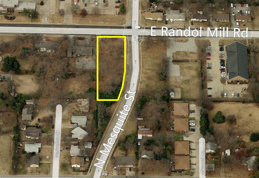 118 E Randol Mill Rd, Arlington  0.68 acres