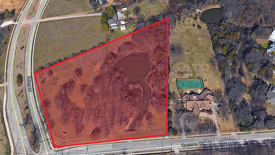 2001 Cannon Dr, Mansfield  5.6 acres