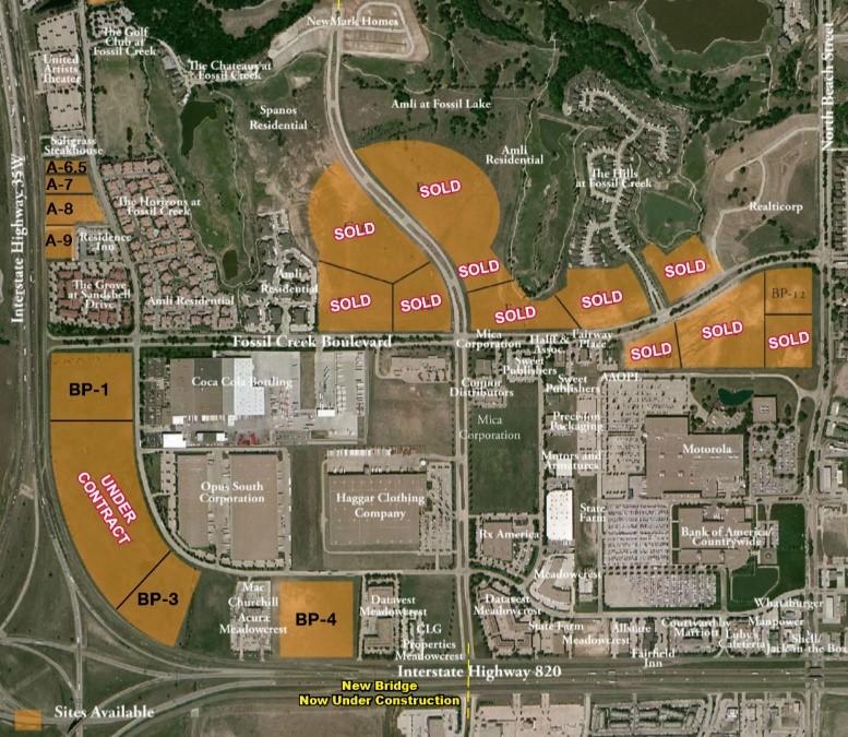 Fossil Creek Development, Fort Worth  Variable Acreage