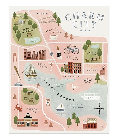 Charm City Print