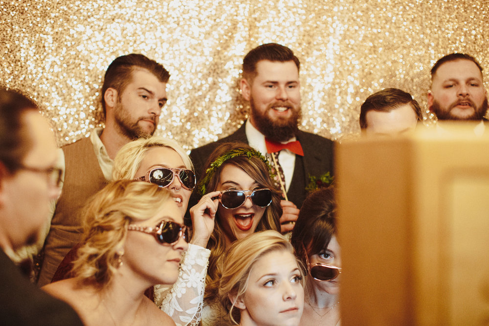Our wedding ceremony captured by  Nessa K .  Photo Booth from  Pixelated .