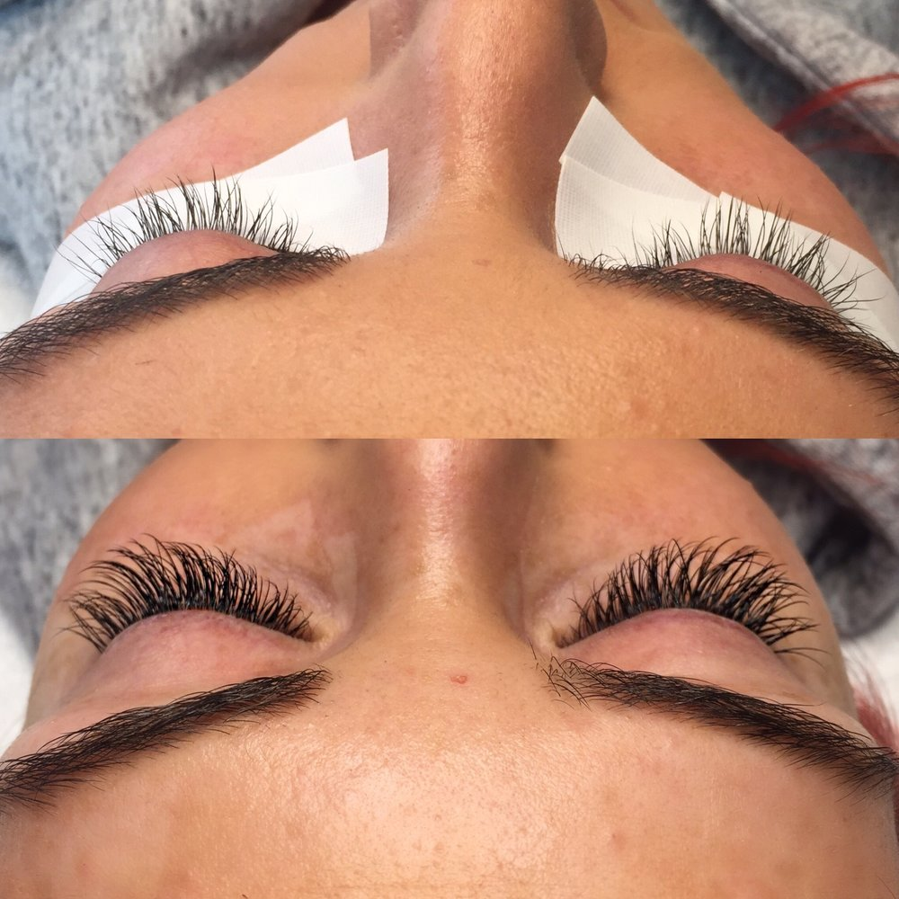 Full Set Lash Extensions - C .15 Mink Lashes from Sugarlash