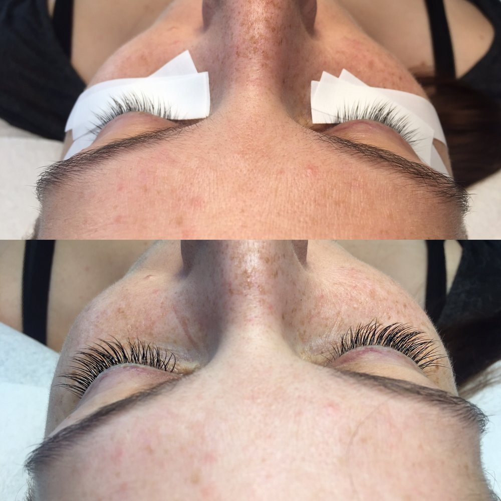 Natural Set Lash Extensions - B Curl .15 Mink Lash by Sugarlash
