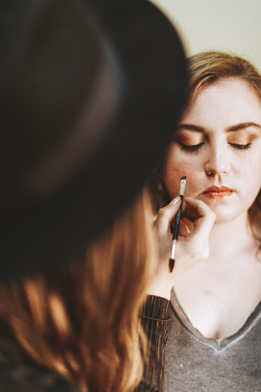 Makeup. Photo: Nessa K Photography