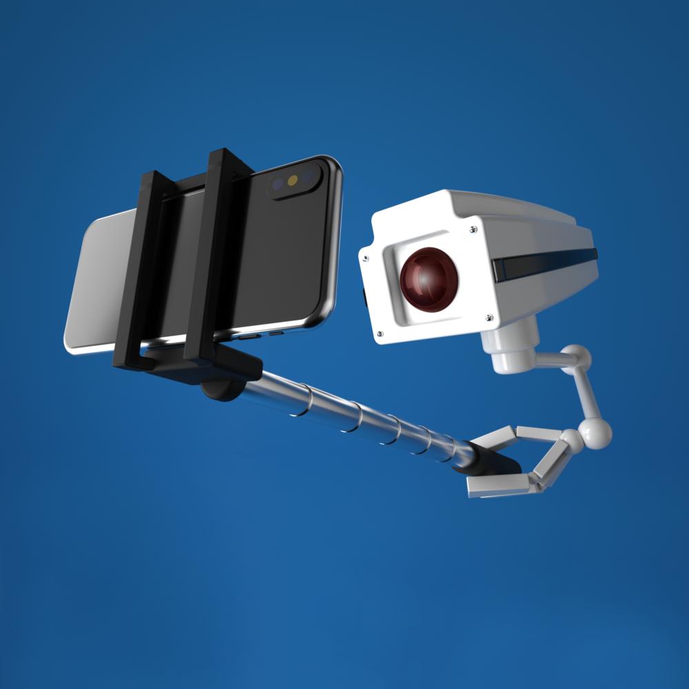 Selfie-Surveillance