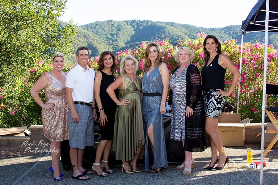 The Sparkle Foundation Board of Directors (l to r): Amanda Jarvis, Steve Schreck, Farimah Erlandson, Samantha Tradelius (Founder), Rebecca Krutz, Barbara Burhs, Brooke Palizi