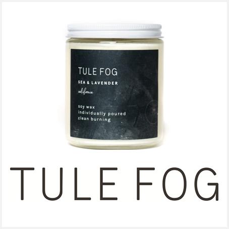 Tule Fog Candles