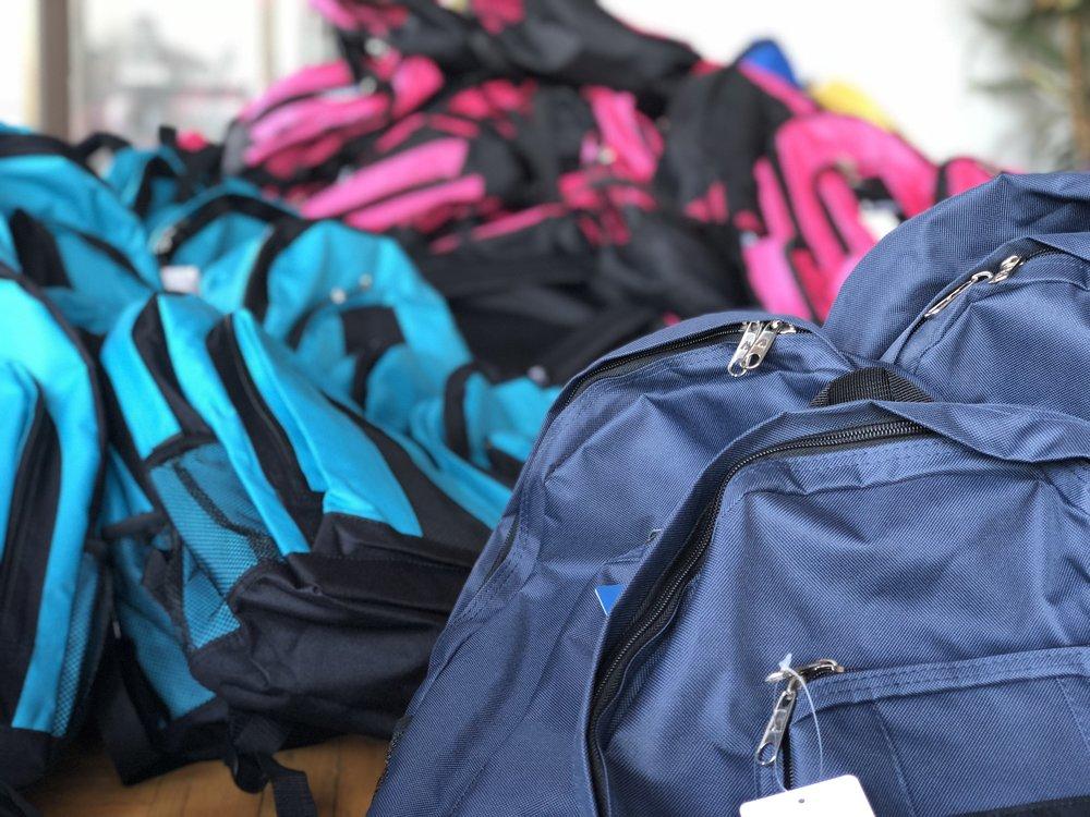 Back to School Backpacks for Bay Area Kids