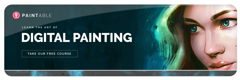Paintable teaching how to digital paint