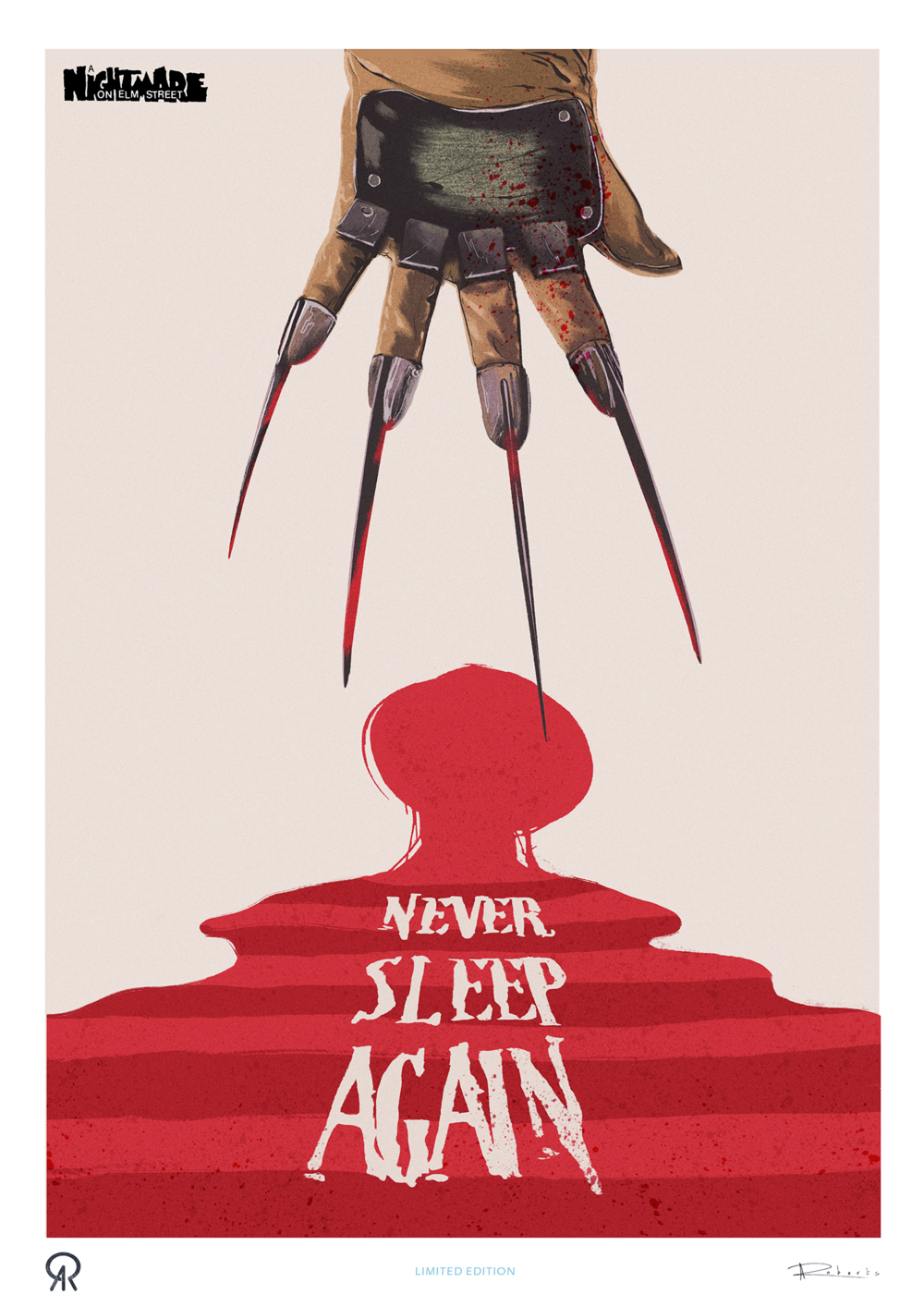 Nightmare on Elm Street - LIMITED EDITION PRINT