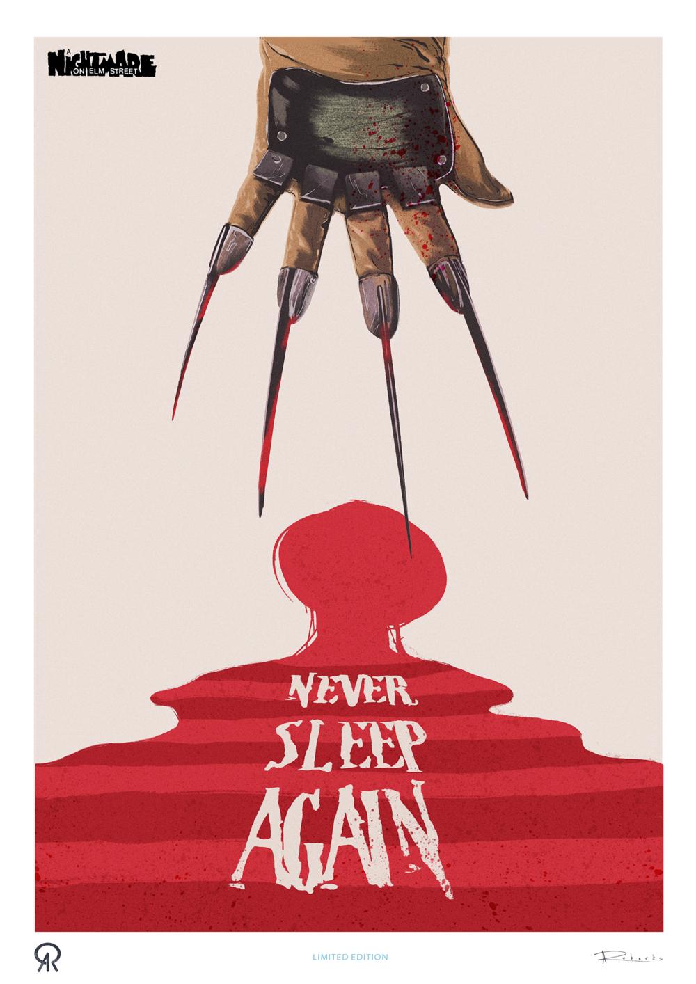 Nightmare on Elm Street - LIMITED EDITION PRINT
