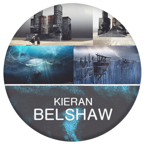 Kieran Belshaw artist of game of thrones