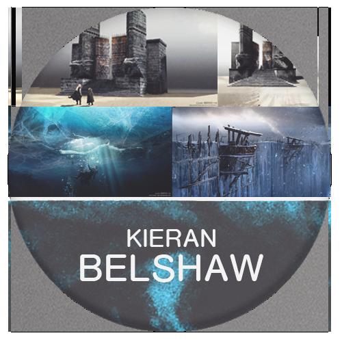Kieran Belshaw artist of game of thrones
