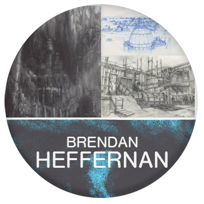 Brendan Heffernan designer and artist for film industry