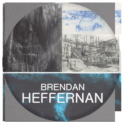 Brendan Heffernan designer and artist for film industry