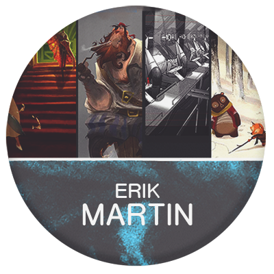 Erik D Martin artist and illustrator for animation and games
