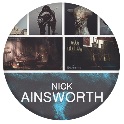 Nick Ainsworth designer and concept artist for film and game of thrones