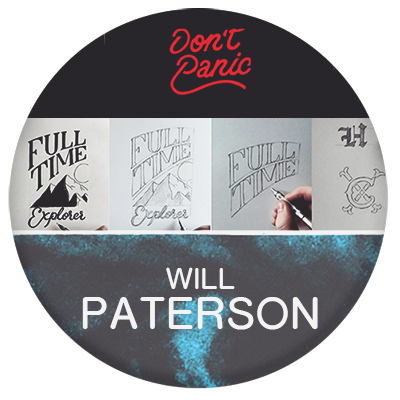 Will Paterson logo designer and graphic design