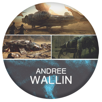 Andree Wallin concept artist and illustrator for star wars and films