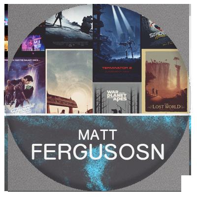 Matt Furguson Poster artist and illustrator for entertainment industry