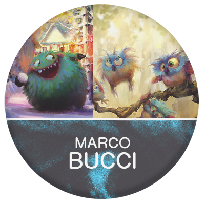 Marco Bucci illustrator and concept artist
