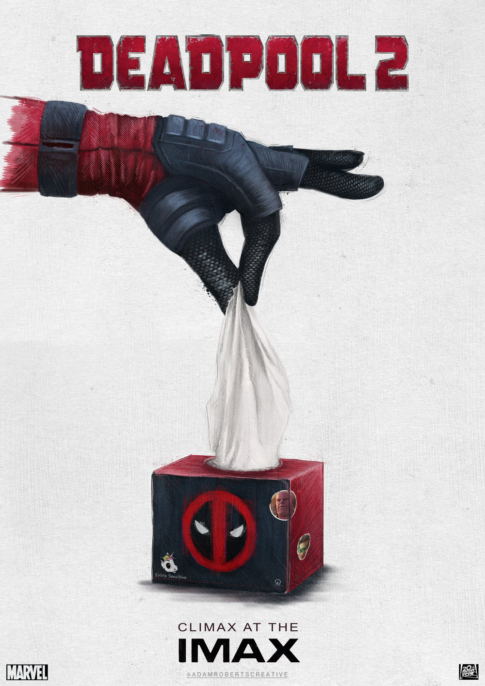 Deadpool 2 - LIMITED EDITION PRINT